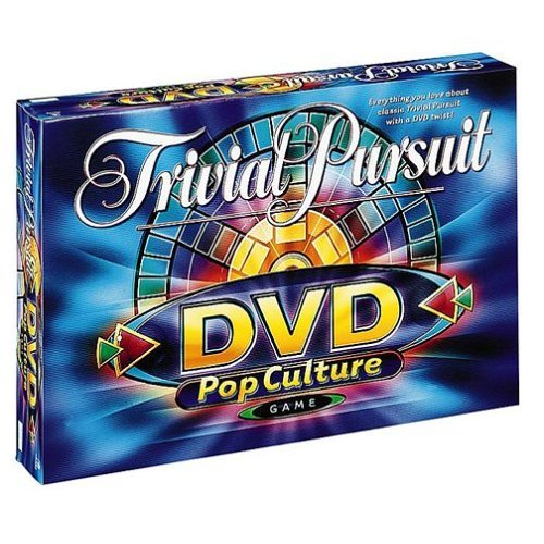 * TRIVIAL PURSUIT DVD POP CULTURE GAME