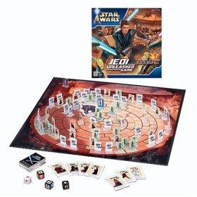 STAR WARS JEDI UNLEASHED Board Game
