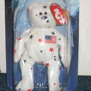 "NEW Ty Beanie Babie ""Glory The Bear"" (1998)"