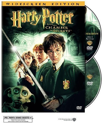 Harry Potter and the Chamber of Secrets WS 2 Disc DVD Daniel Radcliffe, Emma Watson