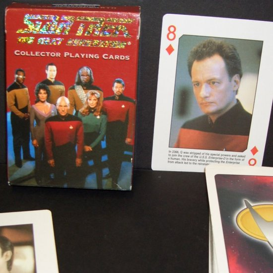 Star Trek Next Generation Collector Playing Cards