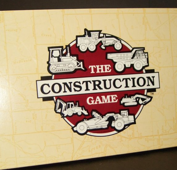 The Construction Game ~ the Original 1993 version! Hard to Find!