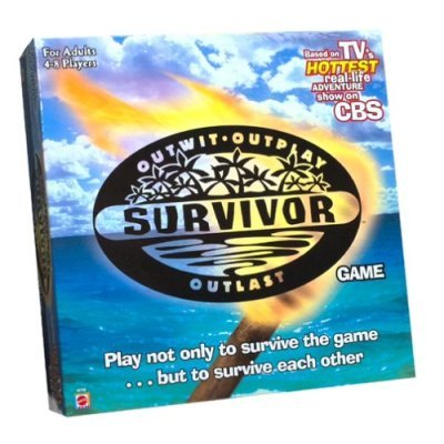 SURVIVOR Board Game For Adults 4-8 PLAYERS