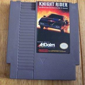 Knight Rider ~ Original 8-bit Nintendo NES Game Cartridge