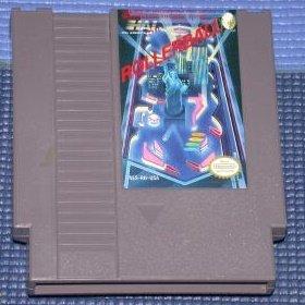 Rollerball Original 8-bit Nintendo NES Game Cartridge