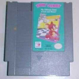 Tom & Jerry ~ Original 8-bit Nintendo NES Game Cartridge