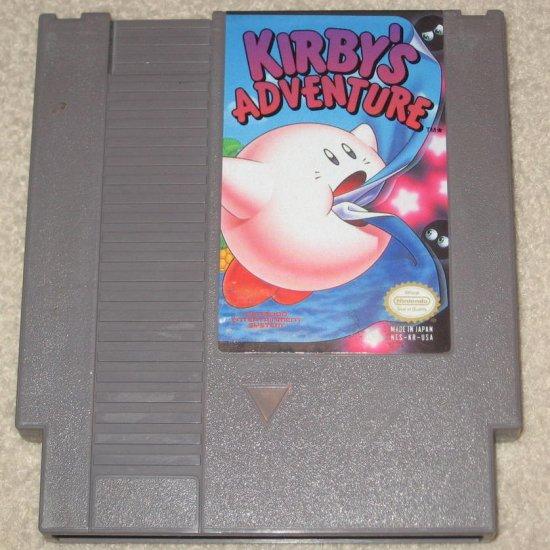Kirby's Adventure ~ Original 8-bit Nintendo NES Game Cartridge