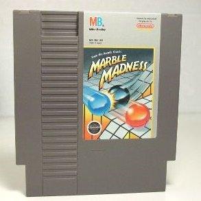 Marble Madness ~ Original 8-bit Nintendo Nes Game Cartridge