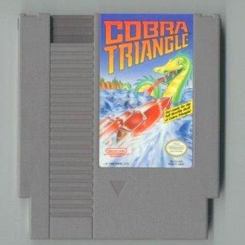 Cobra Triangle ~ Original 8-bit Nintendo NES Game Cartridge