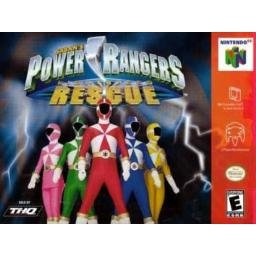 Power Rangers Rescue ~ N64 Nintendo 64
