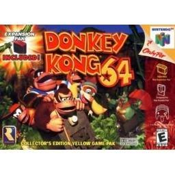 Donkey Kong 64 ~ N64 Nintendo 64