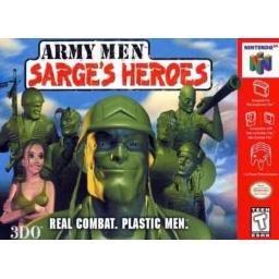 Army Men Sarge's Heroes ~ N64 Nintendo 64