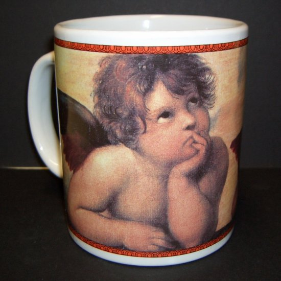 Sistine Madonna, c.1514 by Raphael Cafe Arts by Henriksen Imports Coffee Mug