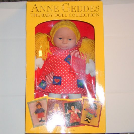 Anne Geddes Baby Stephanie Doll The Baby Doll Collection New in Box (1999)