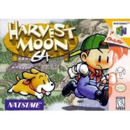 Harvest Moon ~ N64 Nintendo 64 Game and Instruction Booklet  RARE