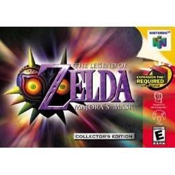 The Legend of Zelda: Majora's Mask N64 RARE HOLOGRAM Edition