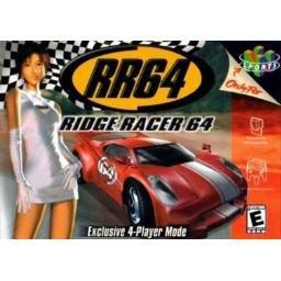 RR64 RIDGE RACER 64 ~ N64 Nintendo 64