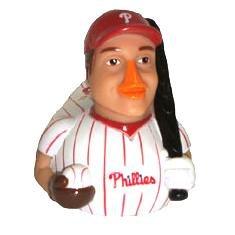 Phillies Bobby Abreu Celebriduck New in Box 2002 Celebriducks First Edition