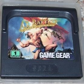 Ax Battler: A Legend of Golden Axe ~ SEGA Game Gear
