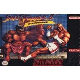 Street Fighter II Turbo Super Nintendo Game