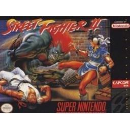 Street Fighter II Super Nintendo Game