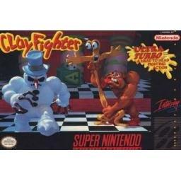 Clayfighter Super Nintendo Game
