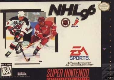 NHL 96 Super Nintendo Game