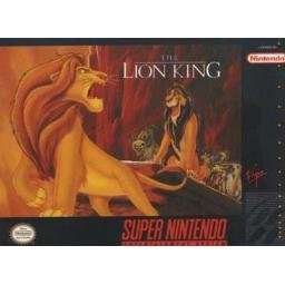 Lion King with Box and Instructions Super Nintendo Game