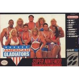 American Gladiators Super Nintendo Game