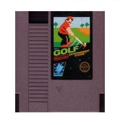 GOLF ~ Original 8-bit Nintendo NES Game Cartridge