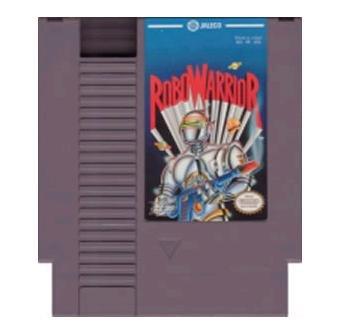 ROBOWARRIOR ~ Original 8-bit Nintendo NES Game Cartridge