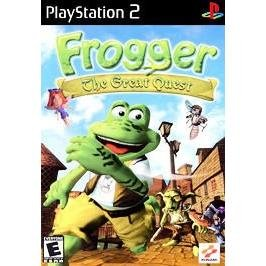 Frogger the Great Quest ~ Playstation 2 PS2 Blue Disc