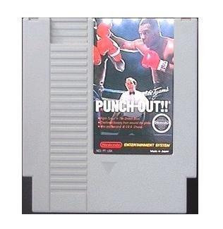 MIKE TYSON'S PUNCH-OUT ~ Original 8-bit Nintendo NES Game Cartridge