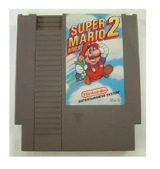 SUPER MARIO BROS. 2 ~ Original 8-bit Nintendo NES Game Cartridge with Manual