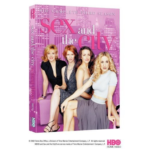 Sex and the City The Complete 3rd Season Boxset DVD