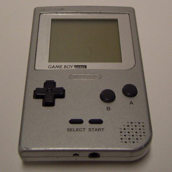 Game Boy Pocket  Silver MGB-001 (1996)