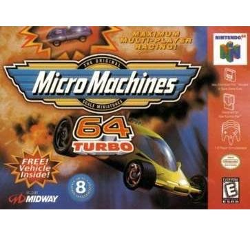 Micro Machines 64 Turbo ~ N64 Nintendo 64  RARE