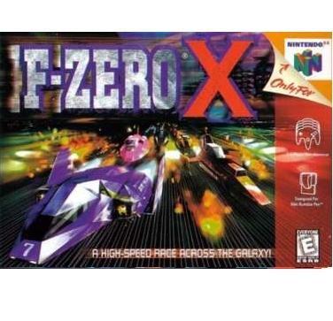 F-Zero X ~ N64 Nintendo 64    X RACING SUPER FUN