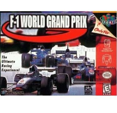 F-1 World Grand Prix ~ N64 Nintendo 64