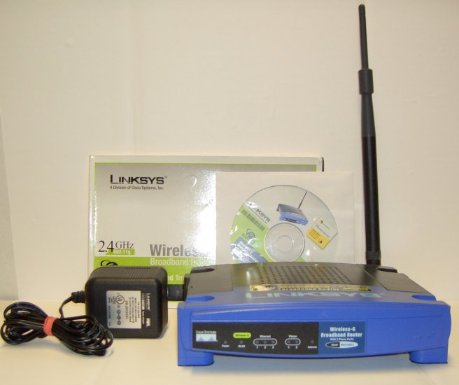 SOLD OUT!!! Linksys WRT54GP2 Wireless-G Broadband Router with 2 Phone Ports Vonage