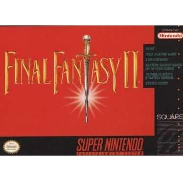 Final Fantasy II  Super Nintendo Game