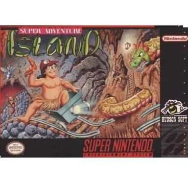 Super Adventure Island   Super Nintendo Game