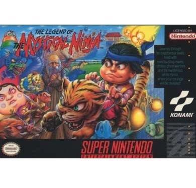 The Legend of Mystical Ninja  Super Nintendo Game