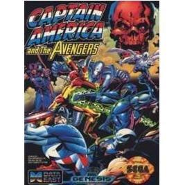 CAPTAIN AMERICA & AVENGERS Sega Genesis Game Complete