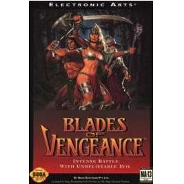 BLADES OF VENGEANCE Sega Genesis Game