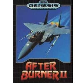 AFTER BURNER II Sega Genesis Game