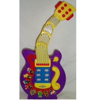 The Wiggles Wacky Wiggle and Giggle Wiggling Musical Purple Dancing Guitar
