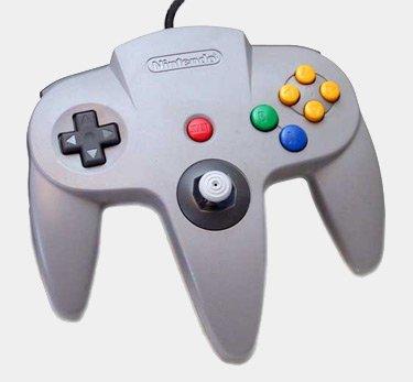 Nintendo 64 N64 Controllers Gray