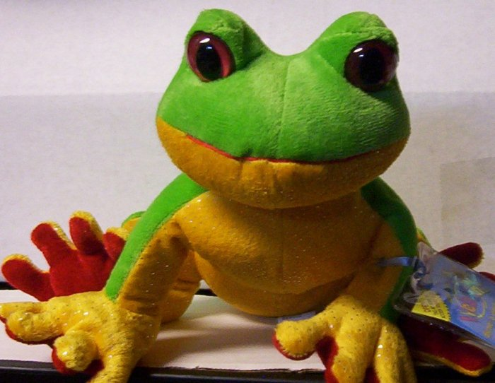 Webkinz Tree Frog New With Tag and  Unused Code RARE www.BellaRain.ecrater.com