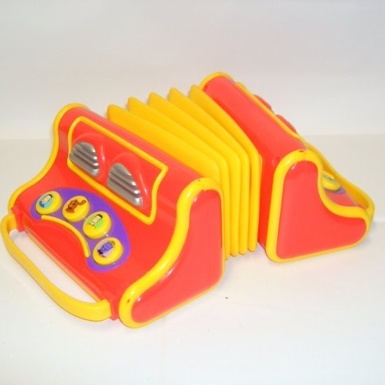 The Wiggles Musical Accordian Toy
